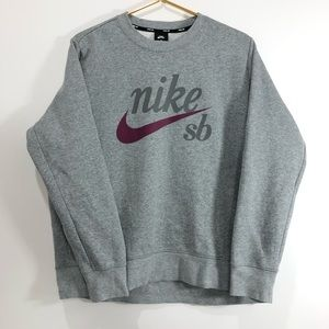 Nike SB Crewneck Sweatshirt  Grey